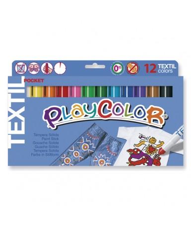 Témpera sólida playcolor para textil