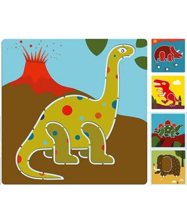 Plantillas dinosaurios