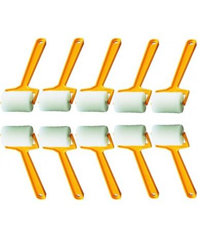 Rodillos largos finos - 10 unidades