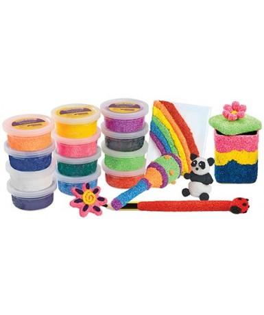 Modela foam - Set de 12 colores
